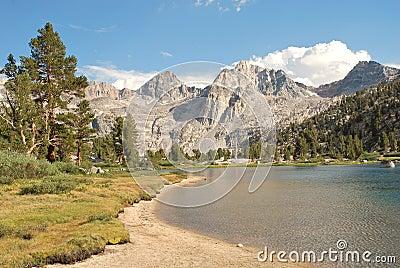 High country Rae Lake in California wilderness II