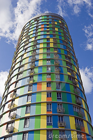 Free High Cylindrical Building Stock Images - 13604914