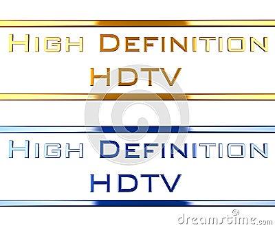 High definition hdtv