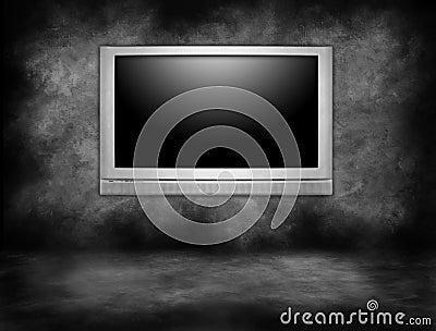 High Definition Plasma Television Hanging