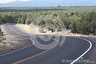 High Desert S Curve