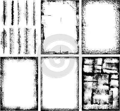 High detail Grunge Frames
