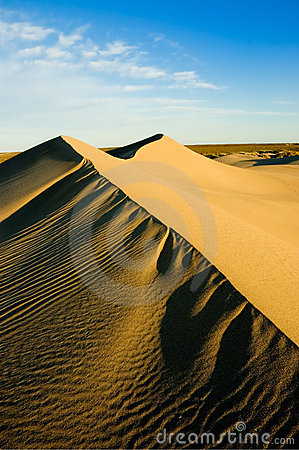 Free High Dunes, Patagonia, Argentina. Royalty Free Stock Image - 5316376