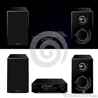 High end modern audio system