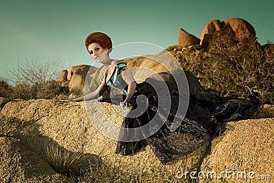 High Fashion Desert Queen