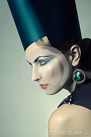 High fashion headshot