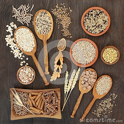 Free High Fiber Pasta Grain And Cereal Health Food Royalty Free Stock Image - 105416736