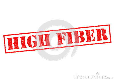 HIGH FIBER Stock Photo