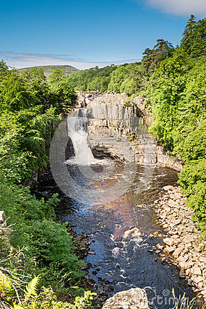 Free High Force Waterfall Portrait Royalty Free Stock Photos - 56817828