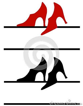 High Heel Shoes Web Logo