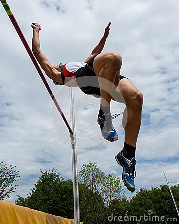 Free High Jump Royalty Free Stock Photography - 24846587