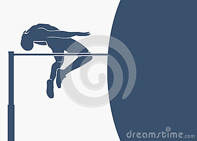 High jump background