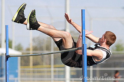 High Jump Competition Editorial Image
