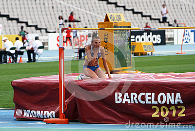 High jumper Iryna Gerashchenko Editorial Image