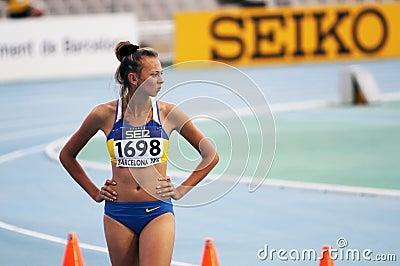 High jumper Iryna Gerashchenko Editorial Image