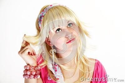 High Key blonde Beauty