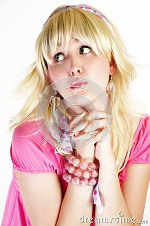 Free High Key Blonde Beauty Stock Photography - 2587412
