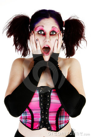 Free High Key Goth Beauty Royalty Free Stock Photo - 2313925