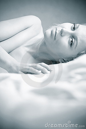 Free High Key Portrait Beautiful Girl Stock Photos - 18238043