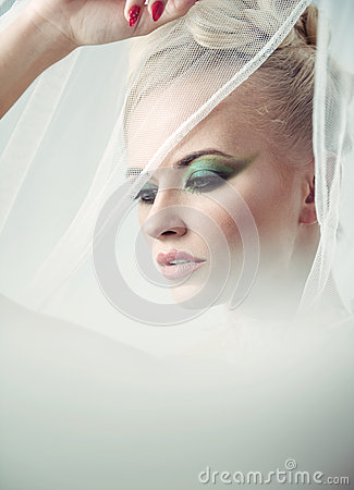 Free High Key Portrait Of A Delicate Blonde Beauty Royalty Free Stock Images - 71455209