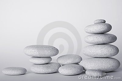 High Key Stone Stacks