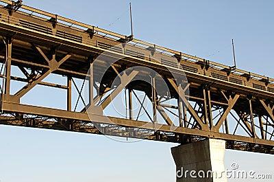 High level bridge in edmonton