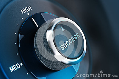 High level of success. Succeed