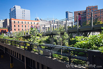 High Line Park NYC Stock Images - Image: 21985034