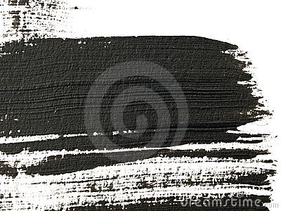 High magnification brush stroke texture