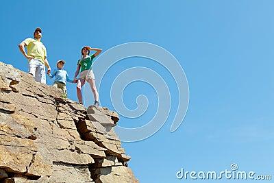 On high mountain