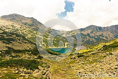 High mountain landscape