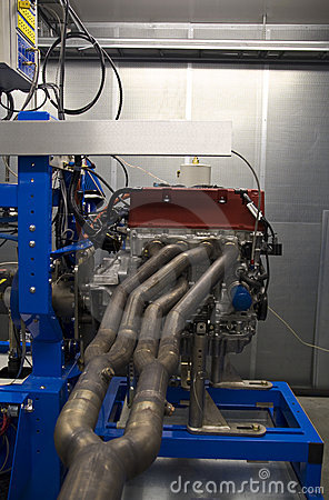 High performance engine test