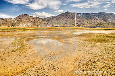 High plains desert and mountains