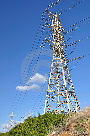 High pylon.