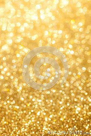 Glittering golden background