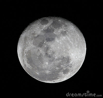 High resolusion full moon close up royalty free stock - Moon close up ...