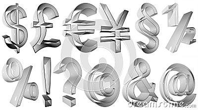 High resolution 3D symbols