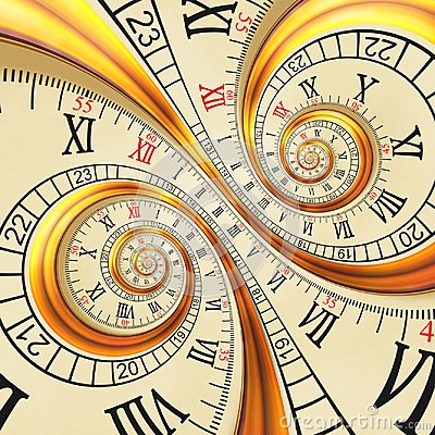 Free High Resolution Antique Old Spiral Clocks Abstract Fractal Spiral. Watch Clock Unusual Texture Fractal Pattern Background Royalty Free Stock Image - 108397786