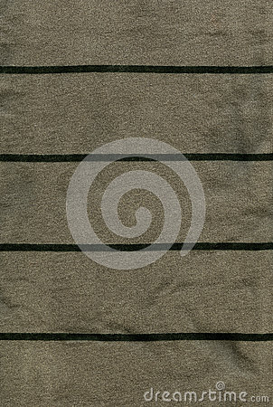 Cotton Fabric Texture - Gray/Green with Dark Green Stripes