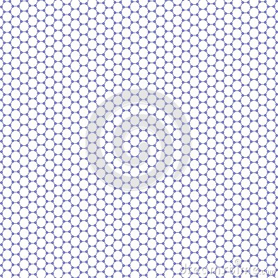 High Resolution Regular Hexagonal Pattern - Graphene