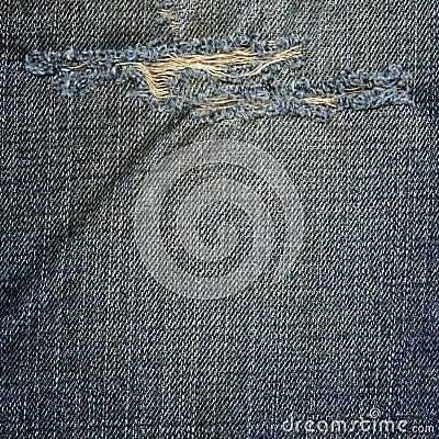Denim Fabric Texture - Ripped - 125.9KB