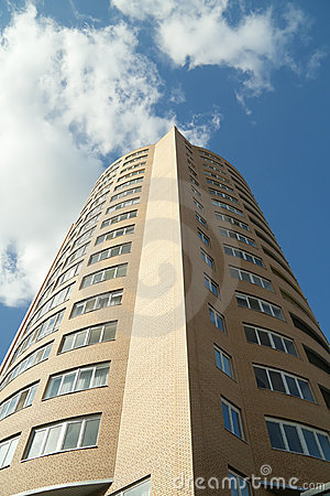 High-rise Apartment Building Royalty Free Stock Photos - Image: 22187238