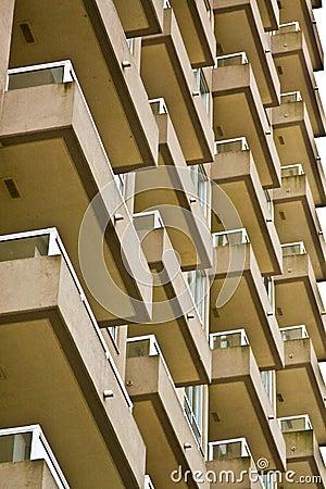 High rise balconies
