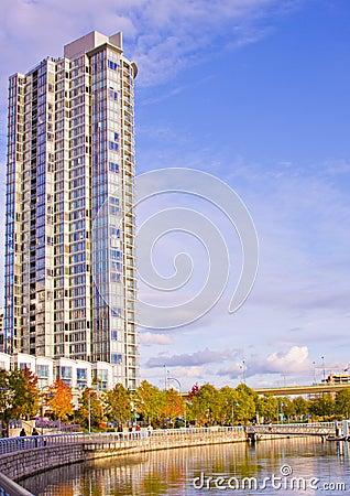 High rise beach tower