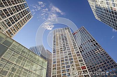 High-rise buildings around CBD Editorial Photo