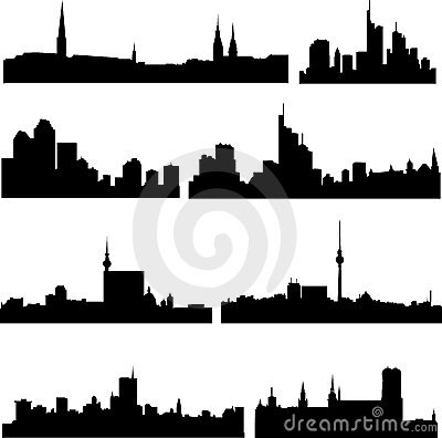 The high-rise buildings in German