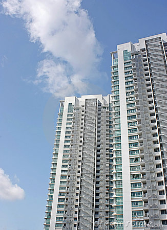 Free High-rise Condominium Blocks Stock Photo - 14523700