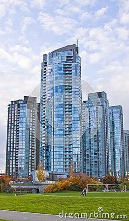 High rise district