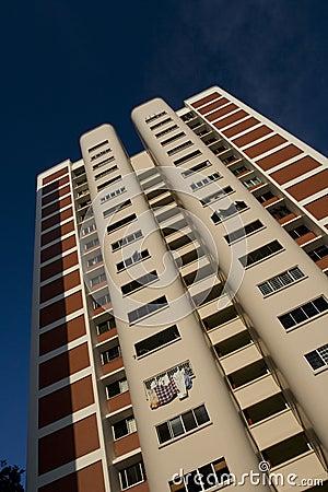 High rise public housing apartments in Singapore