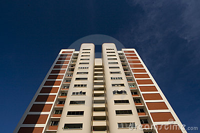 High rise public housing apartments in Singapore